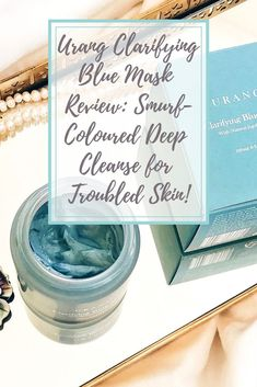 My in-depth review of the Urang Clarifying Blue Mask, an organic blue clay mask with azulene, meant to detox and deep-cleanse your face!  #bblogger #bautyblog #kbeauty #koreanbeauty #skincare #skincaretips #facemask #claymask #organicskincare #organicbeauty #urang