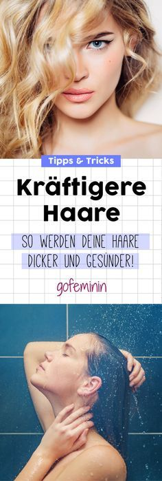 Dickeres Haar: 6 Tricks, die sofort wirken - Beauty-Tipps // Make-up Tutorials - Tips For Thick Hair, Thick Natural Hair, Medium Hair Styles, Curly Hair Styles, Natural Hair Styles, Diy Hair Accessories, Hair Images, Grow Hair, Diy Hairstyles