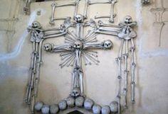 Decorations in the Bone Church, Czech Republic