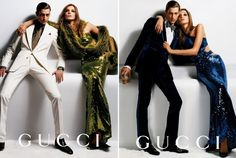 who are we: GUCCI'S GOLDEN YEARS