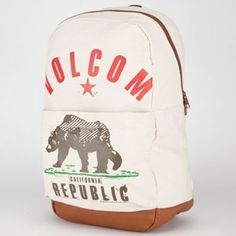 VOLCOM Going Back backpack:) They have this at Tillys:)!