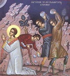 Apostle Stephen the Protomartyr - OrthodoxWiki