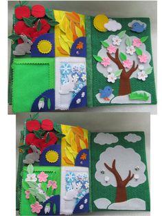 Dit rustige boek zal helpen met de ontwikkeling van het kind en de kinderen graag spelen en leren het concept van kleuren en wat de relatie van een object naar een corresponderende kleur te maken. De eerste tegenoverliggende paginas heet Colors en bestaat uit 2 blz. -De door de