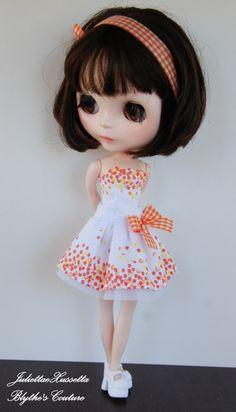 Blythe...by juliettaejulietta summer collection handpainted dresses
