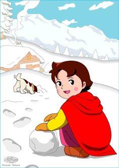 heidi in snow http://heidicartoon.blogspot.in
