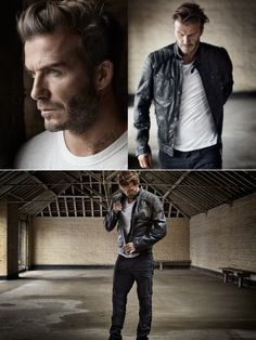 David Beckham Poses for Mr Porter Shoot, Talks Personal Style