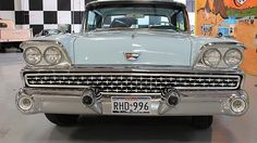 Auction Lot Dallas, TX Very rare J-code color. Cruise-O-Matic transmission. Original AM radio with AM/FM/CD player in glove box Ford Galaxie, Dallas, Engineering, Auction, Technology