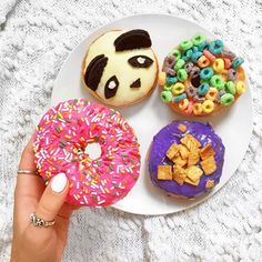 California Donuts in Hollywood Definitely want to go!