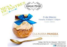 Mesa de Postres con Amelie Péché / Culinaria Pangea / Mty