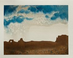 Arches National Park Painting Utah Painting by LetsAllMakeBelieve