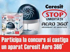 Castiga un dezumidificator Ceresit AERO 360º - Casa și Grădina