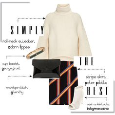 30 days of style - Day 14, The roll-neck sweater by southernbelle83 on Polyvore featuring polyvore, fashion, style, ADAM, Peter Pilotto, BCBGMAXAZRIA, Givenchy and George Frost