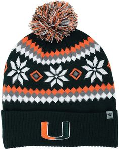 Top of the World Miami Hurricanes Fogbow Knit Hat Men - Sports Fan Shop By  Lids - Macy s d9e2be32aa18