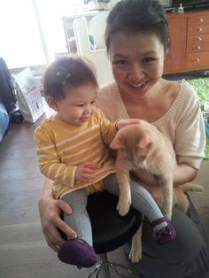 Waiting for Kittenheart: Rowen, Momma et Bax