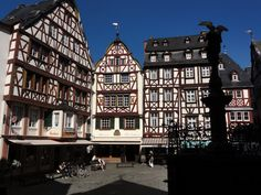 Bernkastel Kues in Moselle Valley in Germany - place of best German Moselle Wines :-)