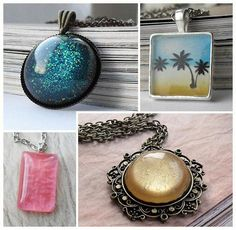 resin jewelry - Bing Images