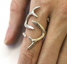 Deer Antler Ring for Women---reminds me of game of thrones