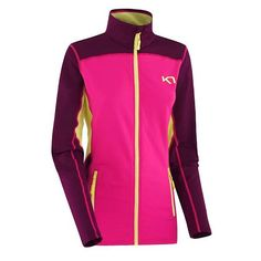 Kaia FZ Fleece KPINK dames