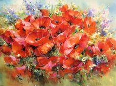 картины маслом на холсте цветы маки: 21 тыс изображений найдено в Яндекс.Картинках