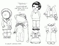 165 best Paper doll coloring pages images on Pinterest | Coloring ...