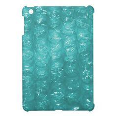 Light Blue Bubble Wrap Effect iPad Mini Case