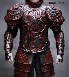 armour for Rhaegar / Aegon the Conqueror