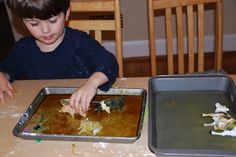 Muddy Animals, Clean Animals:                A Sensory Activity