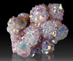 Rainbow Aura Quartz // Crystal Fairy Vibes
