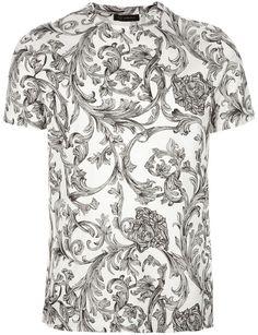 Ramage Printed Tshirt - Versace