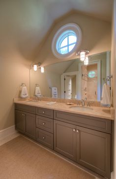 Bathroom Ideas Double Sink double vanity bathroom-like the idea of the separate sinks and the