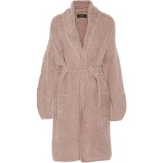 By Malene Birger Tasmoa textured wool-blend coat (2.985.130 IDR) ❤ liked on Polyvore featuring outerwear, coats, jackets, coats & jackets, pink, textured coat, by malene birger, drape coat, brown coat and wool blend coat
