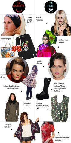 tá quente / tá frio: brigitte bardot, techno tropics, militar... - Juliana e a Moda | Dicas de moda e beleza por Juliana Ali