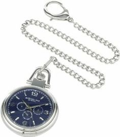 Stuhrling Original 8142A2.PK6 Special Reserve Montres De Poche Monarch Nouveau Quartz Day and Date Blue Dial Pocket Watch Stuhrling Original. $91.18