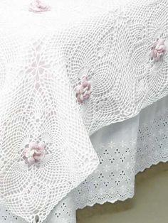 Aloha Rose Bedspread