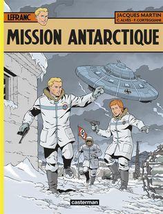 Lefranc -26- Mission Antarctique  -  2015