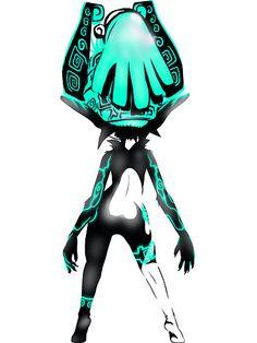 Midna's back design by Buttercup Saiyan