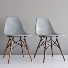 Eames DSW Chairs Seafoam Pair now featured on Fab.