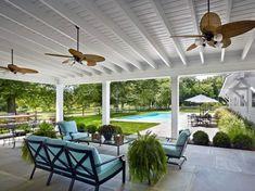 Sleek Patio Roof Ideas White Painted Wood Ceiling Design Rustic Patio, Wood Patio, Patio Roof, Pergola Patio, Diy Patio, Backyard Patio, Pergola Ideas, Patio Ideas, Pergola Plans