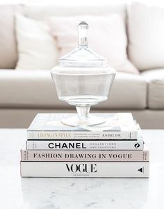 Fashion inspiration: Chanel, Vogue coffee table books