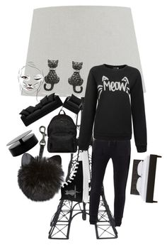 """""""cats"""" by style4567 ❤ liked on Polyvore featuring MANGO, Hogan and BoConcept"""