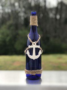 Nautical Wine Bottle Decor