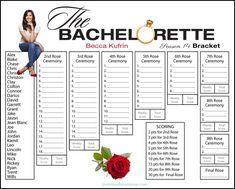 graphic regarding Bachelorette Bracket Printable called 37 Ideal Drama Queens - Bachelor/ette pictures within 2019 Becca