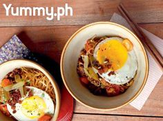 Usher in a new day with your favorite longganisa nestled on firm Japanese ramen noodles and topped with a perfectly fried egg. Yum!