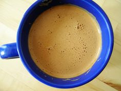 """Butter coffee The """"bulletproof coffee"""" trend? Minnesota housewives have been lacing their black coffee with spoonfuls of butter since the great-Grandma of whoever coined the phrase """"bulletproof coffee"""" was. well, alive for starters. Keto Smoothie Recipes, Vegan Recipes, Drink Recipes, Delicious Recipes, Vegan Bulletproof Coffee, Coconut Oil Coffee Benefits, Minnesota Food, Food Trends, Coffee Recipes"""