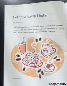Poranna kawa i koty czyli o wartościowym contencie i przemyślanej strategii w Marketingu w Praktyce #MarketingWpraktyce #socjomania