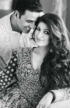 Bollywood, Tollywood & Más: Akshay Kumar and Twinkle Khanna Hello Jatin Kampani photography Pre Wedding Photoshoot, Wedding Poses, Wedding Couples, Cute Couples, Wedding Shoot, Post Wedding, Bollywood Stars, Bollywood Couples, Indian Celebrities