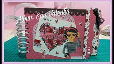 Album San Valentín - Hello Sweetheart Youtube, Valentines, Scrapbook, Love, Saints, Amor, Colorful, Tutorials, Cards