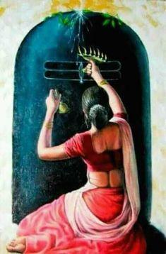 Na Saaf Karo woh sheesha jo gada meri aankhon mein shool banke. Na Saaf Karo woh sheesha jo gada meri aankhon mein sheesha banke. Shiva Art, Krishna Art, Hindu Art, Shiva Shakti, Durga Maa, Hare Krishna, Indian Women Painting, Indian Art Paintings, Lord Shiva Painting