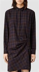This version of a shirt dress is modern and current.  Button all the way up for an extra pop of style. All Saints | Pretty Little Liars