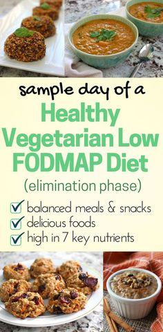 Sample Day of a Healthy Vegetarian Low FODMAP Diet (Elimination) Sample day vegetarian low fodmap diet elimination phase and gluten free Elimination Diet Recipes, Ketogenic Diet Meal Plan, Ibs Diet, Vegan Meal Plans, Diet Meal Plans, Balanced Meals, Balanced Diet, Balanced Breakfast, Dieta Fodmap
